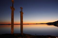 _MG_4360 (erlendsor) Tags: sunset stavanger hafrsfjord stein solnedgang sverd otw
