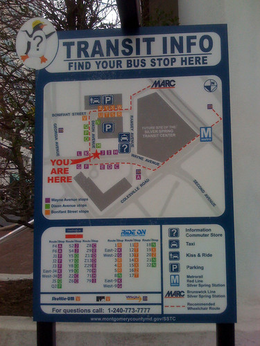 Transit Info - Taken With An iPhone