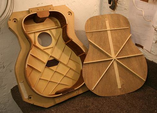 My latest    acoustic    build     progress   Jim Fleeting    Guitars