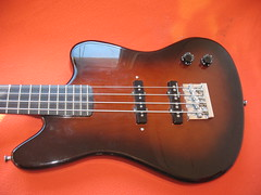 Photo of bass guitar body