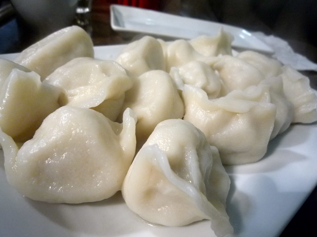 Pork and pickled cabbage dumplings