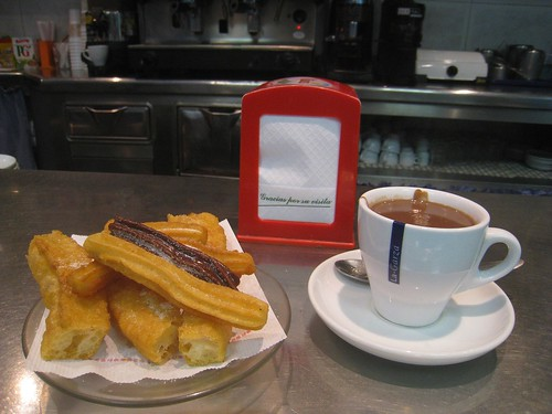 Pastries and chocolate - Barcelona, Spain