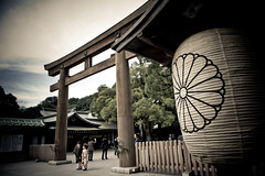 Meiji Shrine (Russmail) Tags: japan kids children tokyo gate shrine   shichigosan tori meiji      lanturn  gettyimagesjapanq1