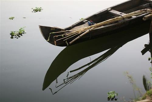 Backwaters dans le Kerala en Inde