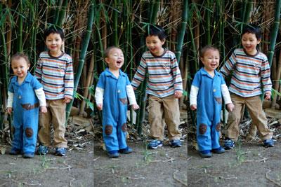 bamboo singing and dancing