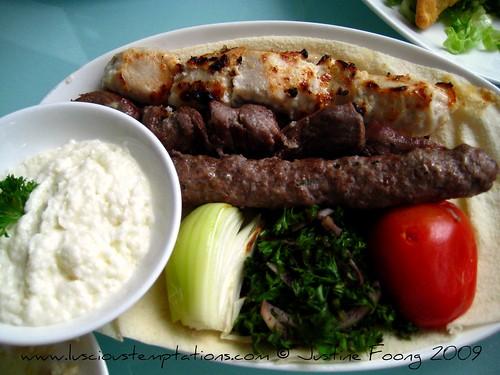 Mixed Shawarma Platter - Al Amar, Kuala Lumpur