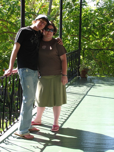 Dustin and I at Hemingway House