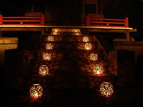 吉野「鬼火の祭典」夜の部-10