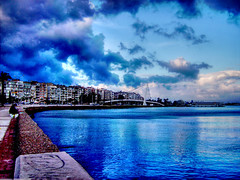 Blueyal - Trkiye (Yener ZTRK) Tags: travel bridge blue sea sky cloud turkey palms pier fisherman ship trkiye aegean turquie trkorszg trkei welcome blau deniz palmiye konak mavi iskele palme 1925 seaport fischer izmir anatolia kste kpr bulut gkyz ege turchia sahil  yansma gemi turkei aegeansea anadolu yal balk gztepe gzelyal efsane egedenizi turcha trkiyecumhuriyeti denizkys turkqua  t gismeer t tp  t egeninincisi gzelyalkpr gzelyalbridge denizmotoru gztepeiskelesi blueyal