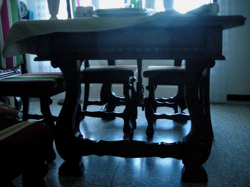 FOR SALE : DINING-ROOM SUITE, FROM SPANISH BASQUE COUNTRY - A VENDRE : SALLE A MANGER BASQUE
