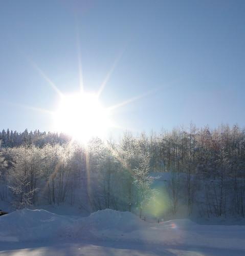 Love the sunshine...