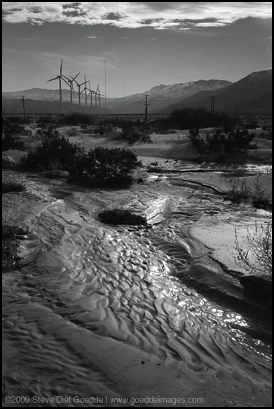 Mud Outside of Palm Springs, 2009