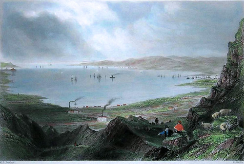 Belfast from Cave Hill 1842