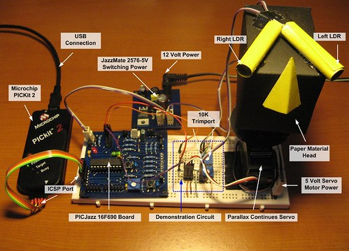 Basic Servo Motor Controlling with Microchip PIC