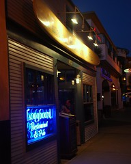 longboard restaurant and pub (jst images) Tags: night pub downtown oc huntingtonbeach hb