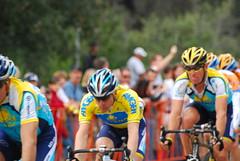 Levi and Lance (SBGrad) Tags: nikon lance levi rosebowl pasadena nikkor 2009 astana tourofcalifornia atoc toc2009 toc09
