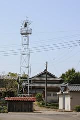 鹿飼の火の見櫓(川越市)