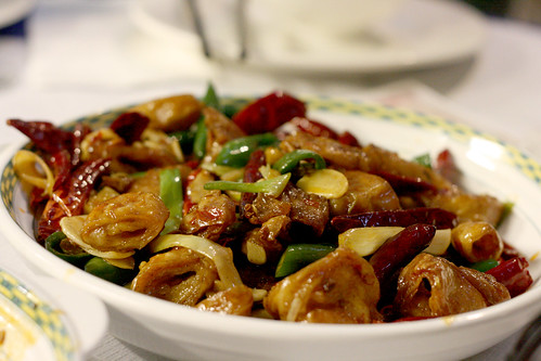 Hot & Chilli Crispy Pork Intestine