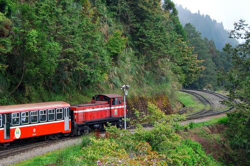alishan narrow-gauge railway