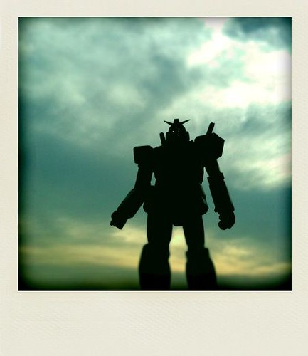 Gundam@Odaiba by iPhone