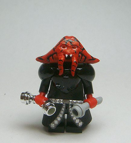Darth Malaval custom Minifig