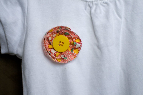 flower onesie