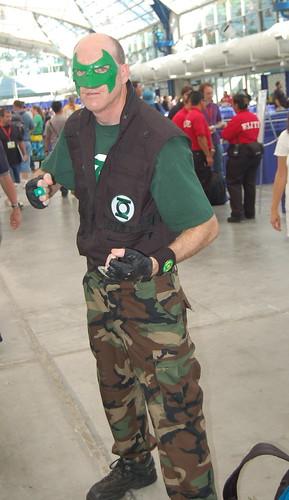 Comic Con 2009: Green Lantern Corp