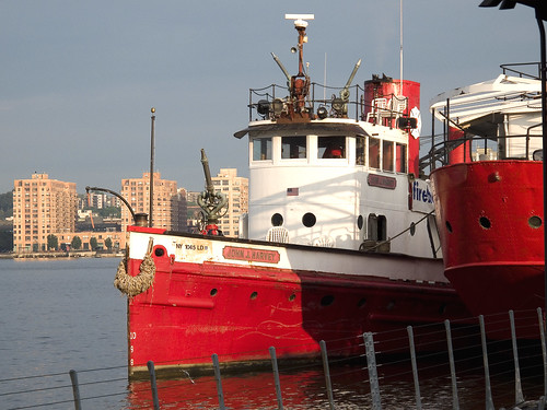Fireboat John J. Harvey by you.