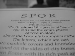 What SPQR means