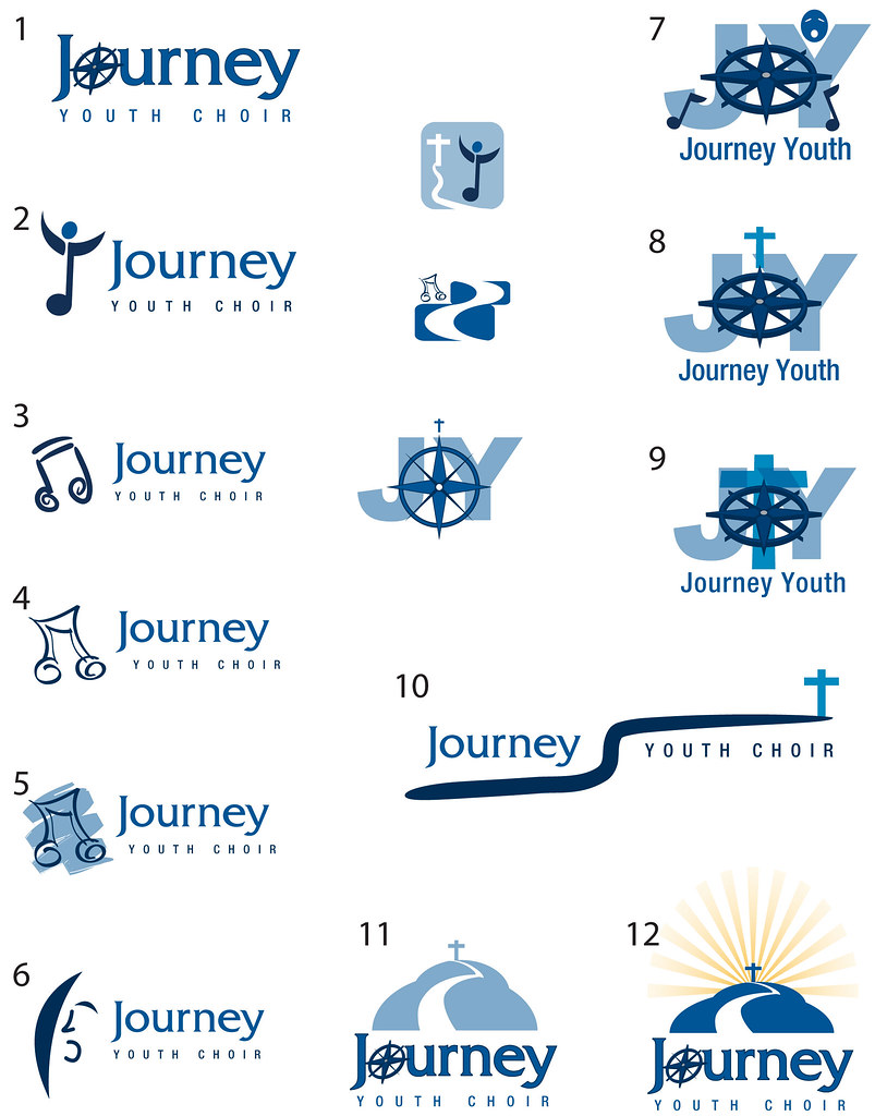 Youth Choir Logo Concepts