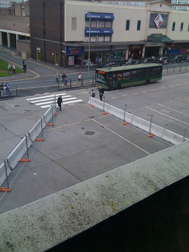 new crossings at preston bus station