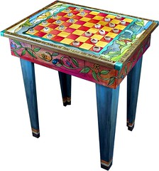 Sticks� Game Table GAM-042-Front