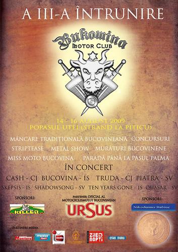 14-16 August 2009 » Întâlnire Bukowina Motor Club