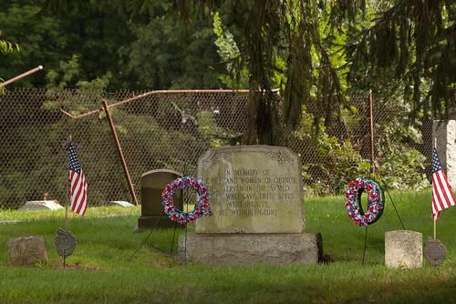 Quincy Civil War Unknown Soldier memorial