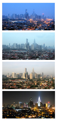 Day and Night View from KL Retreat