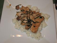Pork and Garlic Chives