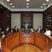 Integrantes de la Mesa Directiva saliente Cámara Diputados (25-08-09)