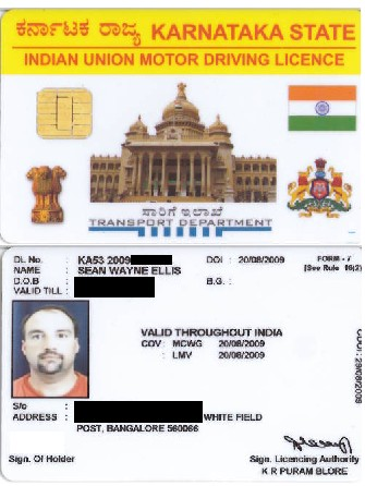 Legal to Drive in India