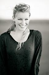 Melanie (TijmenKielen.com) Tags: sea portrait blackandwhite beach wet girl smile canon portretten melanie 85mm blond lightroom hoekvanholland tijmen tijmenkielen kielen tijmenkielencom 5dmarkii canon5dmark2 5dmark2 canon5dmarkii