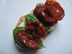 And then some oven-roasted tomatoes