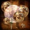 ~ BIG tO bigger ~ (ViaMoi) Tags: reflection art texture photoshop design 3d render sphere bubble viamoi