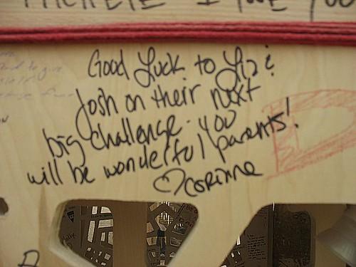 corinne's message