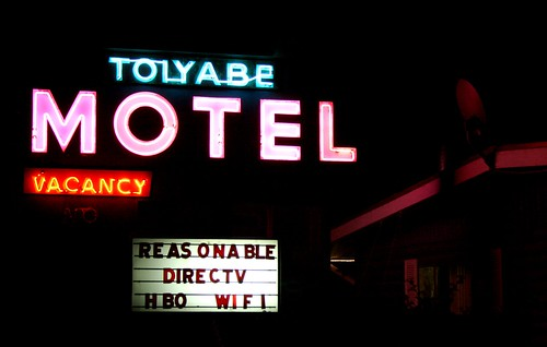 Toiyabe Motel Night