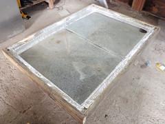 Test avec les plaques d'acier galvanisé