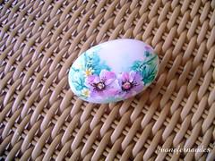 Pintura no sabonete (Ivone Fernandes) Tags: artesanato artesanal pintura ivone fernandes sabonete