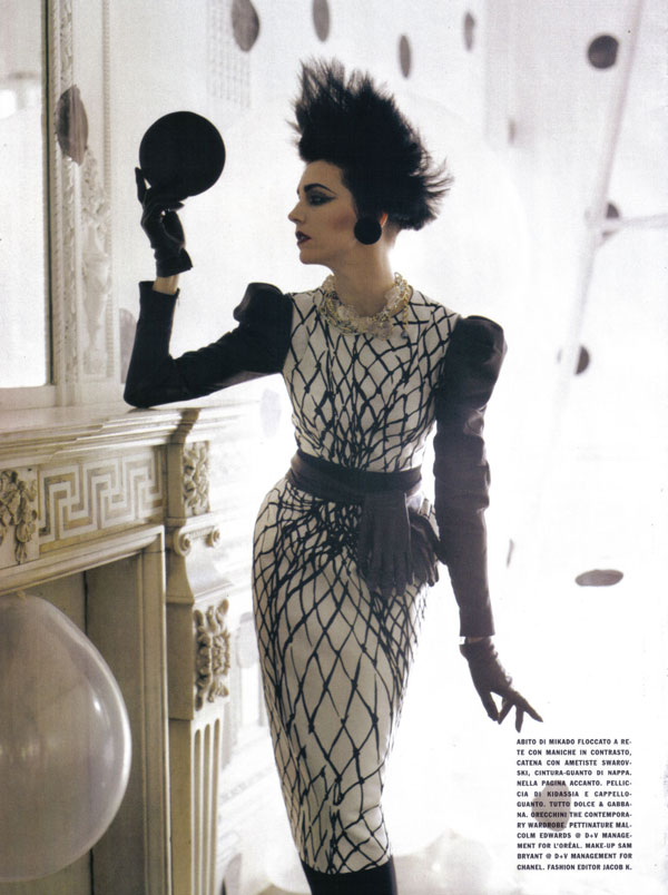 Vogue Italia A Play Of Dots by Tim Walker