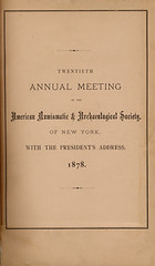 ANS Annual Meeting 1878
