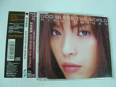 原裝絕版 1999年 3月31日 知念里奈 RINA CHINEN CD 原價  1223YEN 中古品