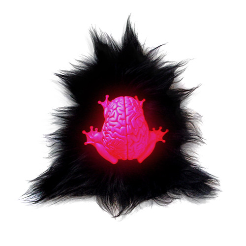 NEON PINK Jumping Brain - Urban Angel Gallery Exclusive