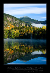Autumn Reflections on Whiteface Mountain (Mountain Visions) Tags: autumn snow reflection clouds pentax adirondacks foliage reflexions whiteface k7 copperas mountainvisions da35 c2009 pentaxsmcpda35mmf28